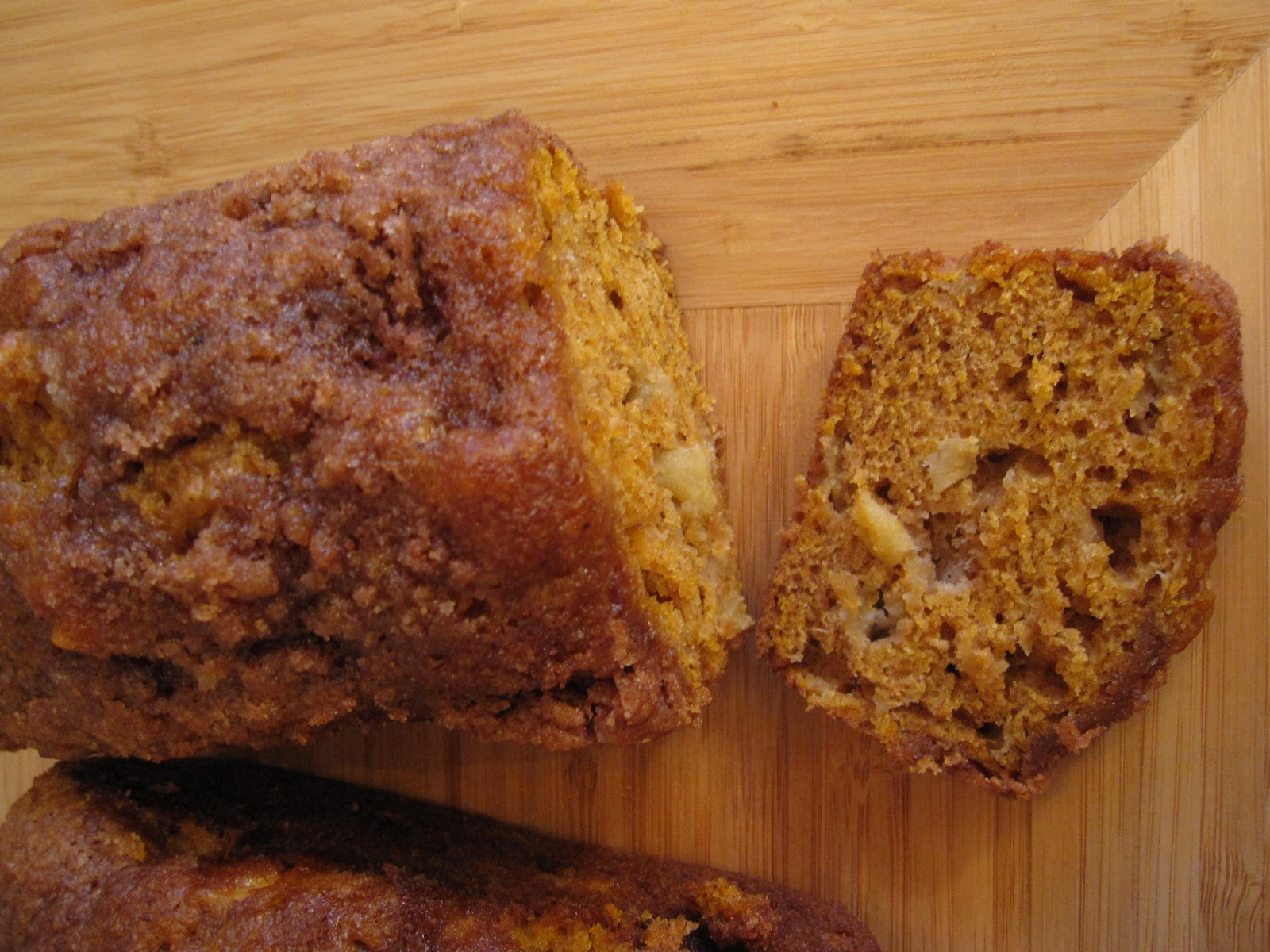 The Scratch Patch: Pumpkin Apple Spice Bread