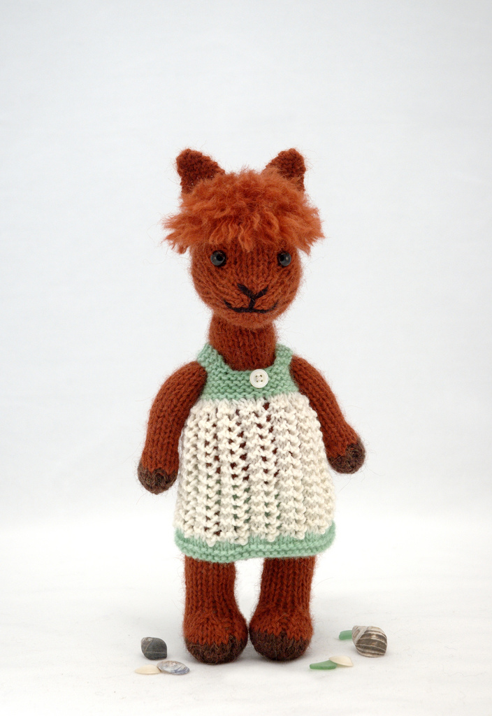 Fuzzy Thoughts Alpaca Pattern Is Ready