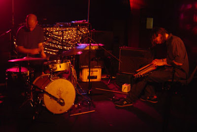 Chris Corsano and Mick Flower