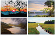 "Invitation to ""Landscapes by the Hudson Valley Daily Painters"""