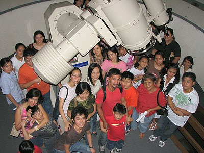 UP NISMED Joins 100 Hours of Astronomy