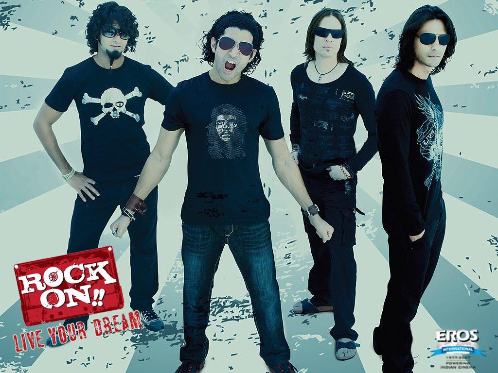 info qskan rock on 2008 online hindi movie