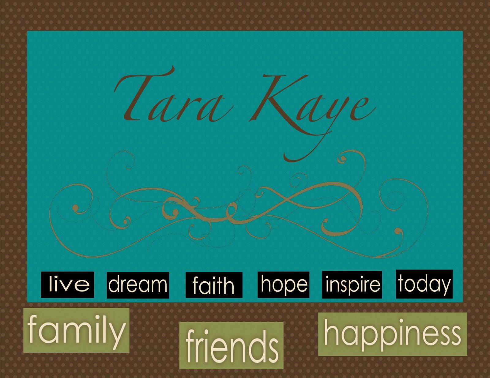 Tara Kaye