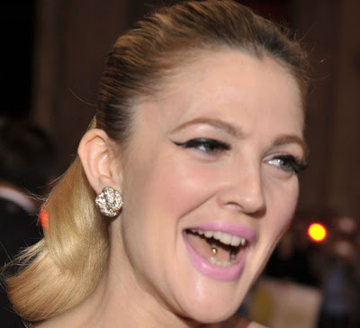 drew barrymore  mouth