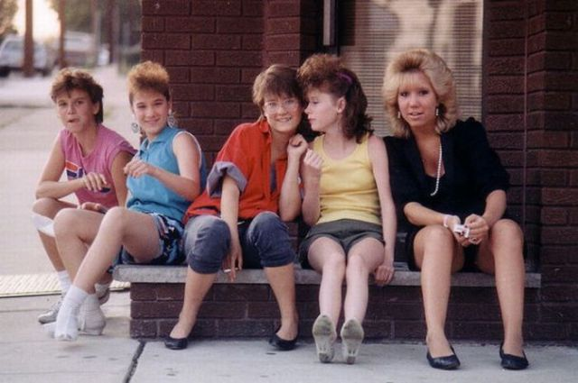 photo of girls 80's style № 1230