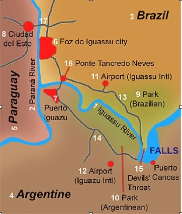 Struggles over Dams and Waterfalls in Paraguay GeoCurrents