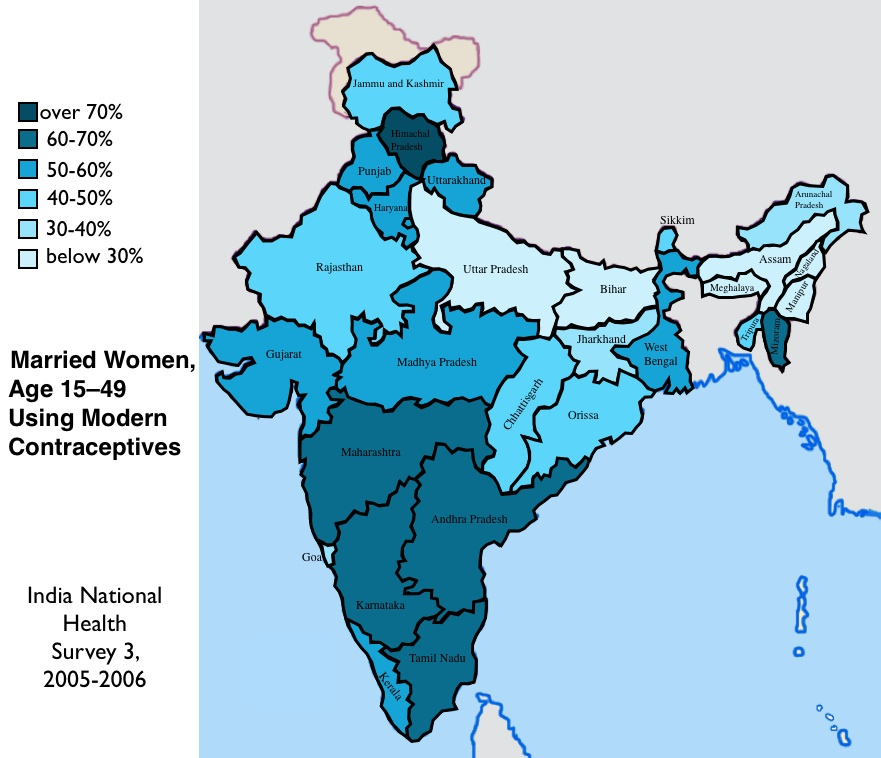 Vaccination HIV Awareness Contraception And Literacy In India - Map of the us showing vaccination rates