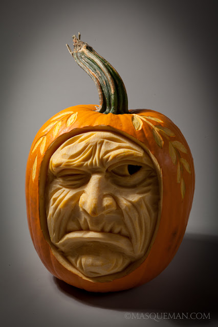 Awesome halloween pumpkin carvings masqueman photography