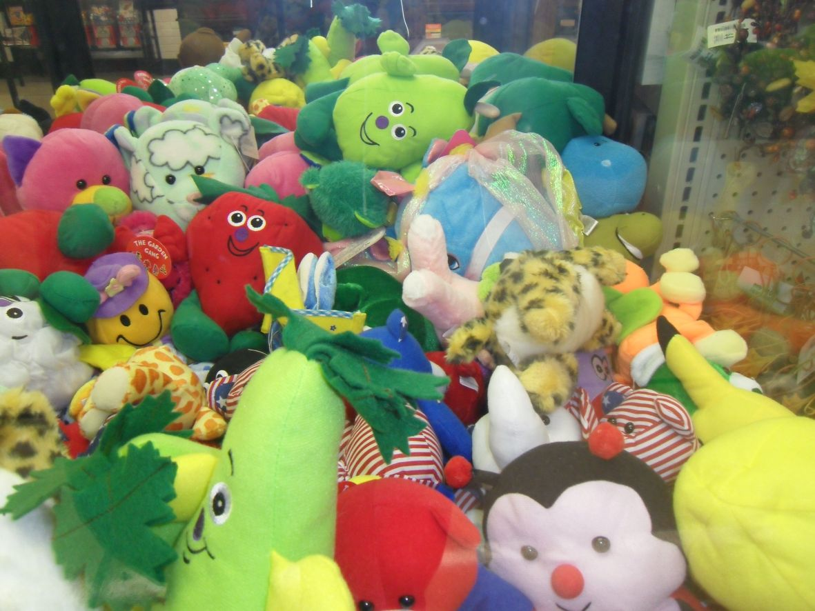 Claw Machine At Big Lots