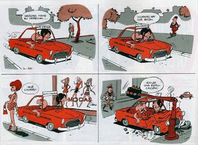 condorito gag auto