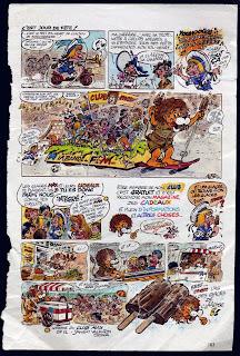 kiko max glaces lion publicité