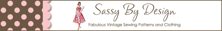 Sassy By Design Vintage Patterns and Clothing