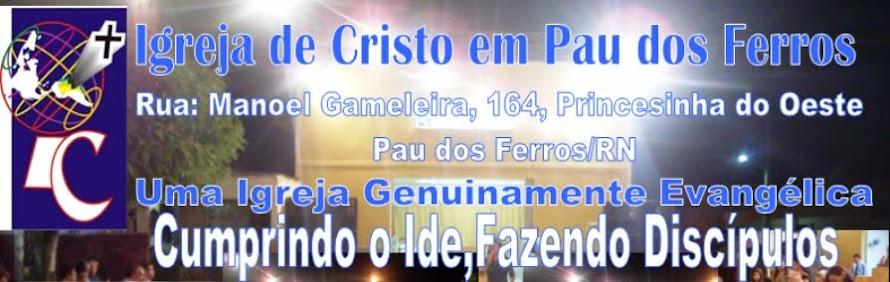 Igreja de Cristo em Pau dos Ferros