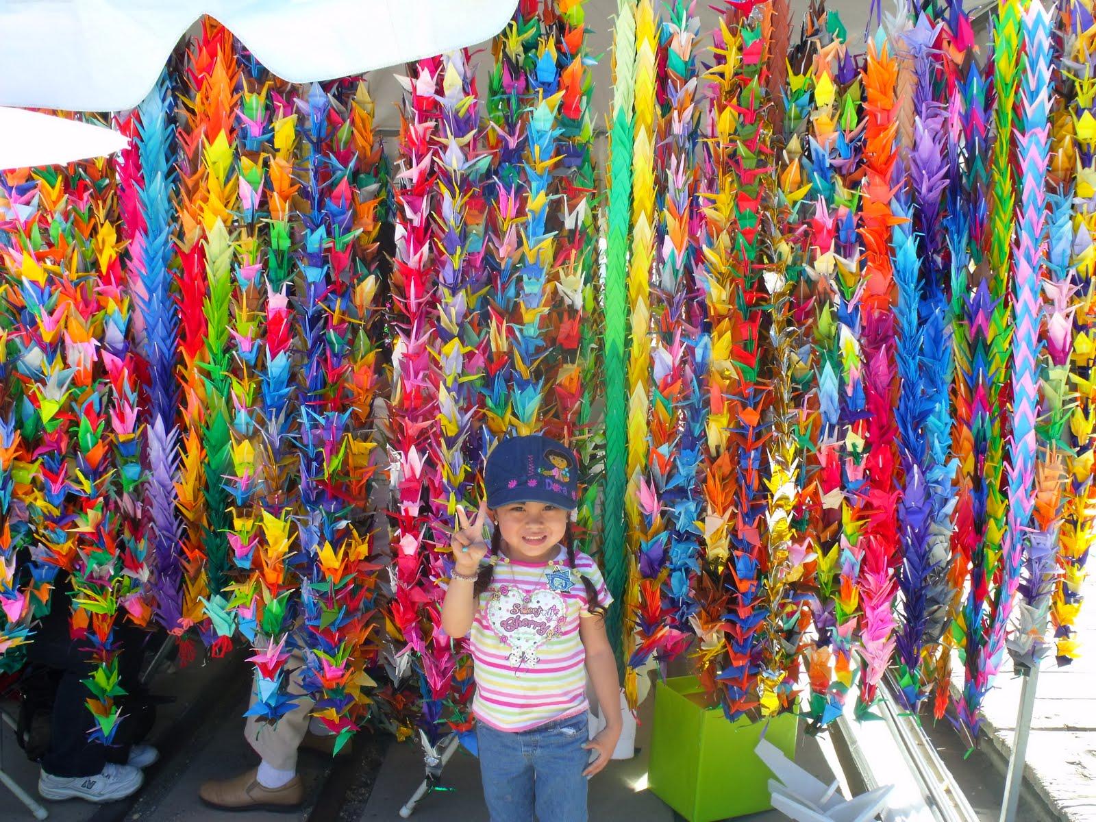 thousand origami cranes the dias family adventures