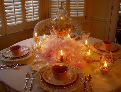 valentines table decorations. valentine table centerpieces