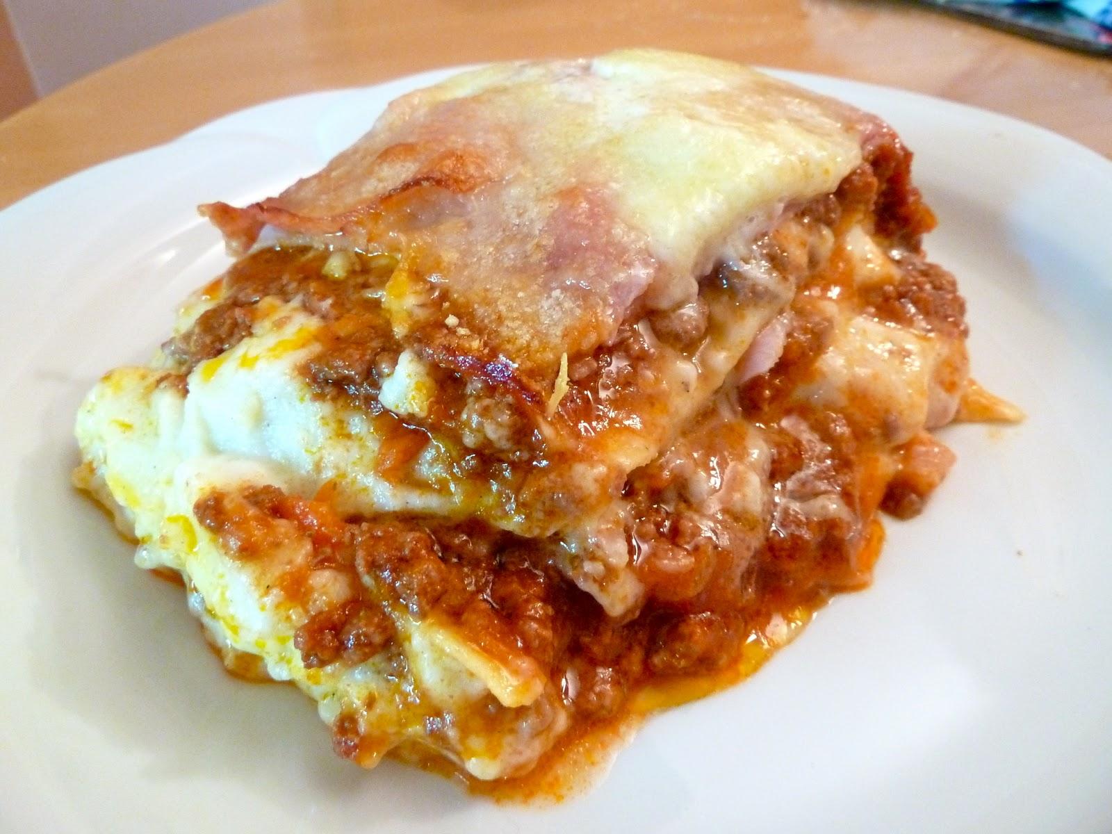 "The Wandering Cook: Barbara's ""Southern Italian"" lasagna"