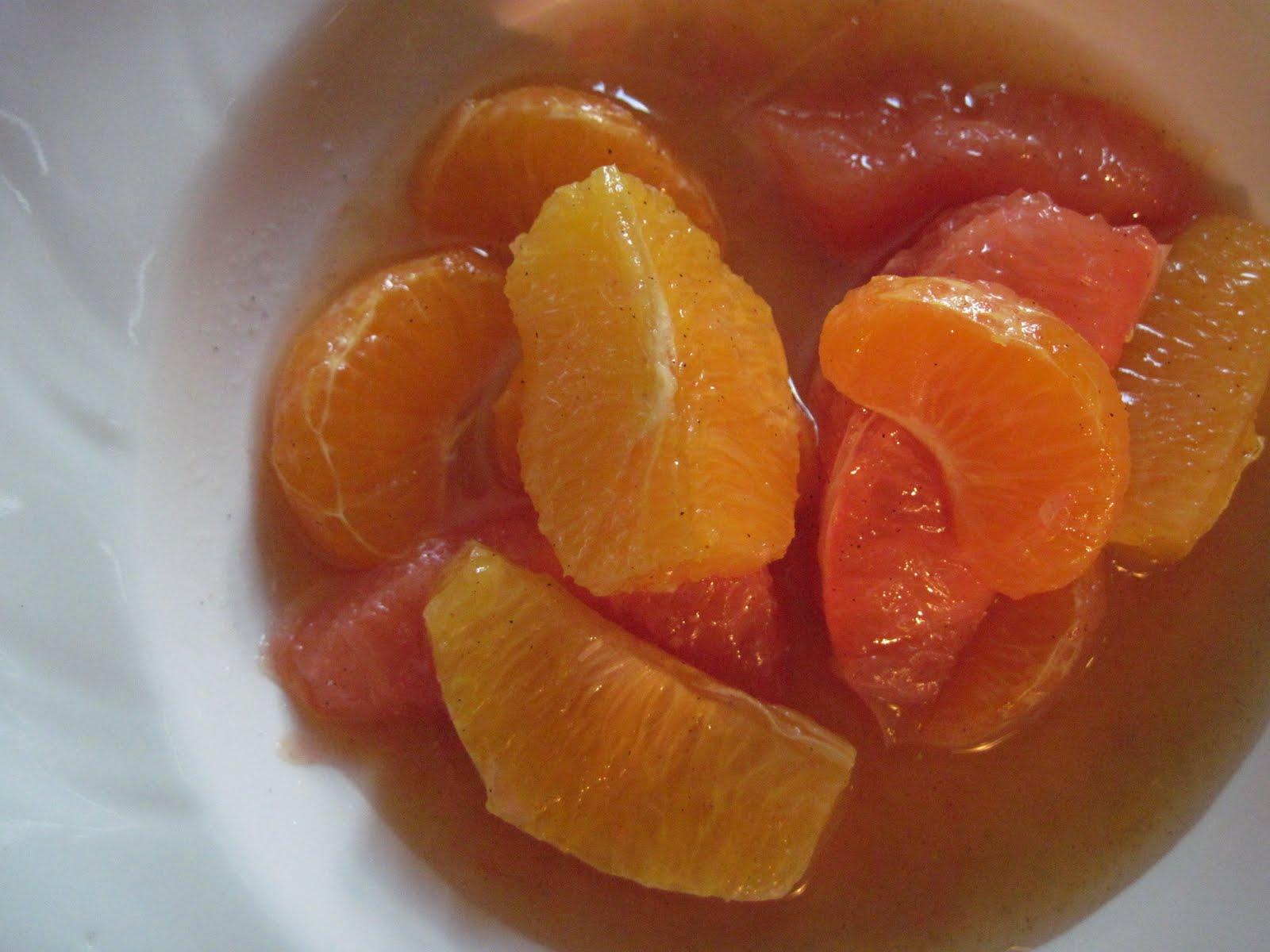 Mum in Bloom ~: Recipe: Cardamom Citrus Fruit Salad