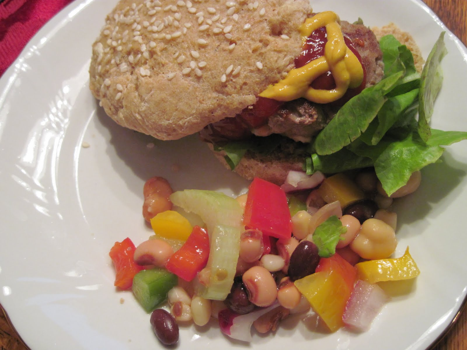 Mum in Bloom ~: Recipe: Feta Cheese Turkey Burgers