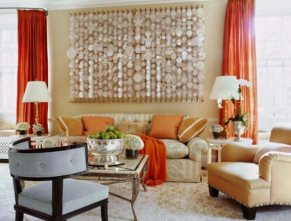 abode love: a man's home is his wife's castle: orange you glad i ...