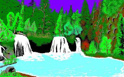 lukisan digital