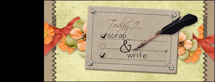 Scrap and write!