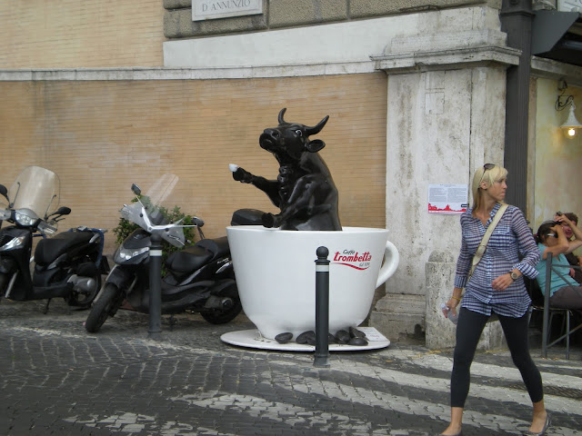 Coffee is bullish in Roma!