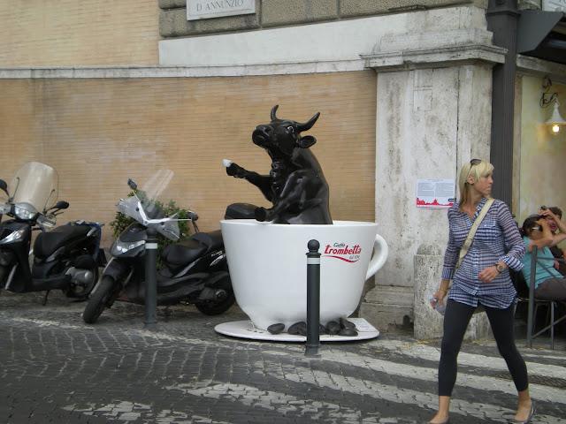 Coffee is bullish in Roma!