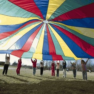 Carly's PE Games: P.E. Parachute Activities for Elementary Students