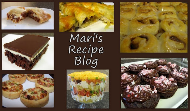 Mari's Recipe Blog