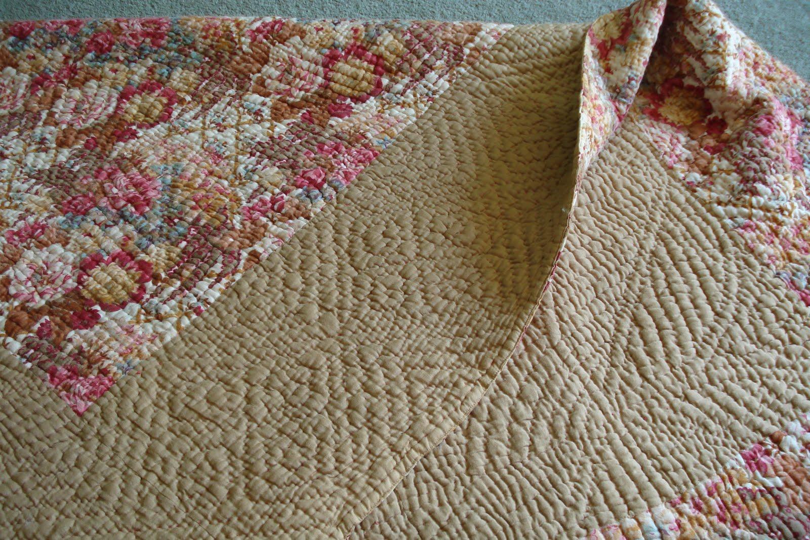 Welsh Quilts Floral Bordered Welsh Quilt