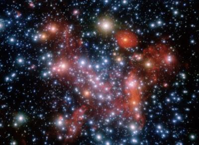 Resultado de imagen de Credit: ESO , Stefan Gillessen ( MPE ) En el Centro de la Galaxia