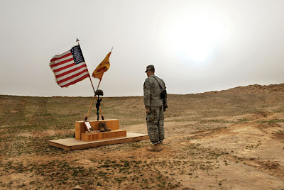 memorial service for american soldier killed by ied iraq 2006  Dereliction of Duty II