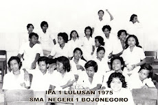 Sahabat-Sahabat SMA 1 IPA 1 Tahun 1975