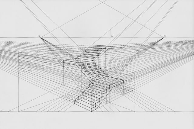 Plan Elevation Oblique : Drawing ii talbot multiple perspective