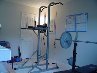 Parker's New Home Gym