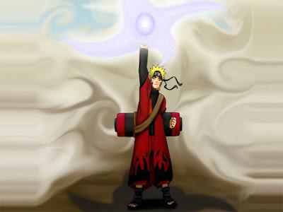 Uzumaki Naruto Sage Mode Wallpaper