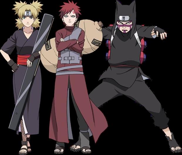 Naruto Shippuden Gaara