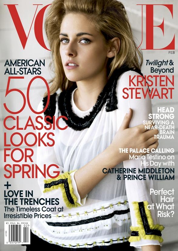 kristen stewart 2011 photoshoot. Vogue US Published: February 2011 Cover Star: Kristen Stewart Photography by