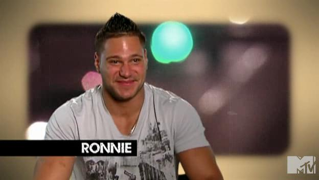jersey shore ronnie hairstyle. ronnie of jersey shore tattoo