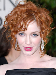 Christina Hendricks Hair cut