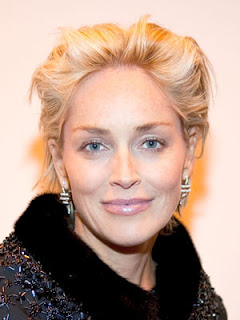 Sharon Stone Hairstyle Poster