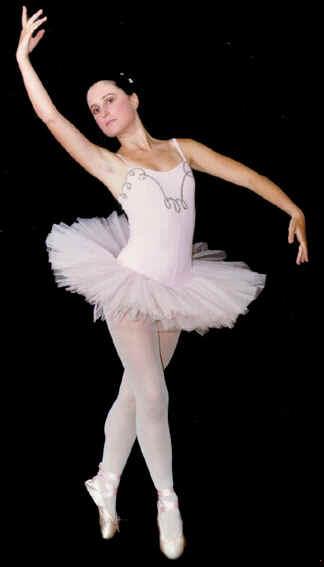 Bailarina De Ballet Cl  Sico