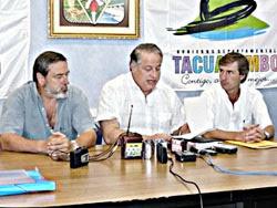 Firmaron contrato para obras de pavimento bituminoso en el sur del Dpto. de Tacuarembó