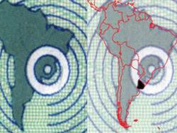 Insólito: Error geográfico en cédulas uruguayas señala al Uruguay dentro de territorio brasileño