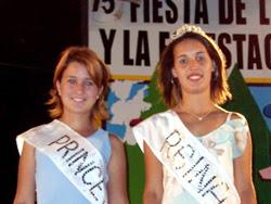 Reina y Princes de la Sandía y la Forestación 2006