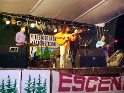 Espectáculo artístico de la Fiesta de la Sandía y la Forestación 2007