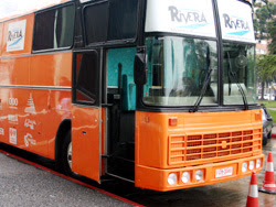 Quedó habilitado para uso de la comunidad el ómnibus donado por Japón