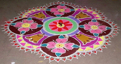 Rangoli Designs and Rangoli Patterns - Online Invitations, Wedding