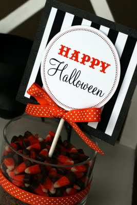 halloween candy Jar Gift