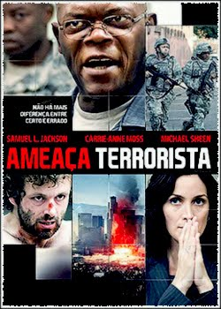 Filme Poster Ameaça Terrorista DVDRip RMVB Dublado